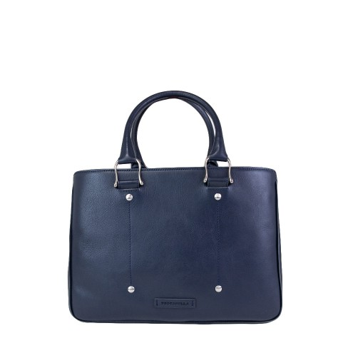 Leather Business Work Bag For Women Made In Florence