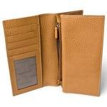 Out of Stock 3 Section Italian Leather Billfold for Men 508-BU