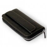 Italian Leather Clutch Wallet & Coin Pocket 554-BU