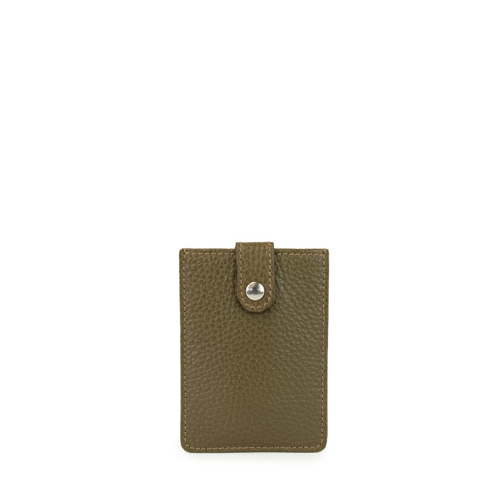 Men\'s Business Card Holder in Leather