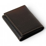 Men's Italian Leather Billfold - Made in Italy 552-BU