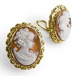 Pierotucci Set in 18k yellow gold Can be worn as pierced or clip OR22-CON_07