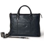 Tucci Slim Leather Tote Bag for Men 1328-VA