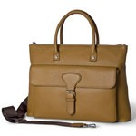Leather Business Tote Bag 1272-BU