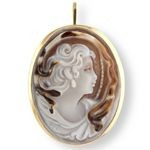 Neo Classical Woman, pendant & brooch SAR-30-01-B_07