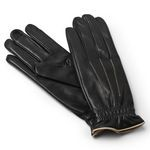 Leather Gloves Lined in Cashmere Made in Italy FY42-CA