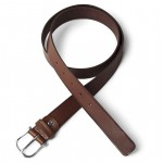 Max length 122 (can be shortened) Silver colored hardware Toscanella signature on belt loop 29-CU