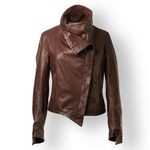 Pierotucci Vintage Leather Jacket for Women AB272-NA