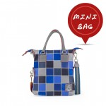 Fortunata Designer Patchwork Bags, mini 4851-PW3