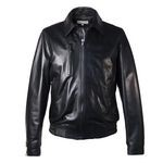 Leather Bomber Jacket Wear 3 Ways for Men Made in Tuscany AB298-NA/007