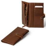 Leather Vertical Bifold Wallet for Men Made in Florence 509-VA