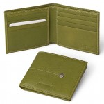 Leather Bifold Slim Wallet for Men Made in Florence 517-VA