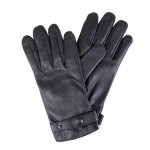Leather Handmade Gloves Lined in Wool Made in Italy T94/7-LA