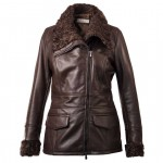 Pierotucci Warm & Fashionable Persian Lamb Coat AB319-NA/027