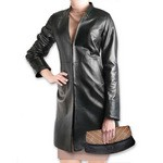 Pierotucci The Best Black Leather Jackets AB313-NA/007