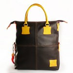 Leather Fortunata Limited Edition Tote Bag - Brown 4853-PE-01