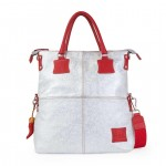 Leather Fortunata Limited Edition Shopper Bag - White 4853-PE-09