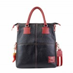 Fortunata Means Only Designer Leather Handbags 4853-PE-11