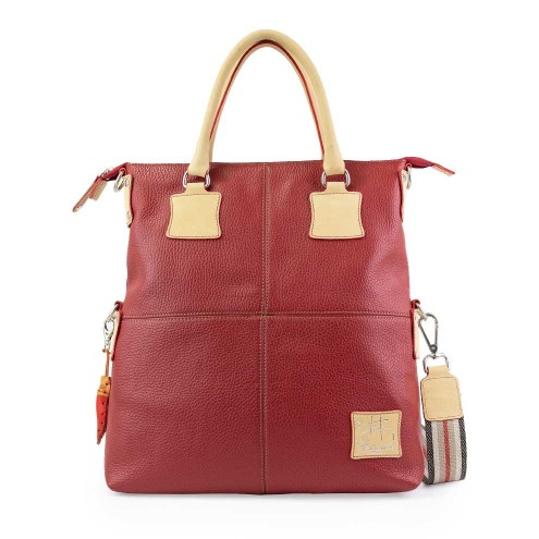 Leather Limited Edition Tote Bag Light Brown