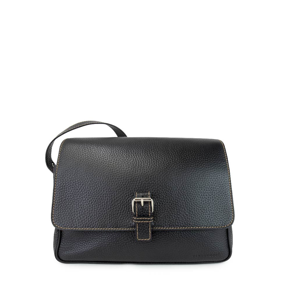 All Leather Business Bag