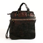 Leather Tote Bag with adjustable shoulder strap by Campomaggi C3098CR