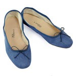 Porselli Ballet Flat - Denim PO-DS-54