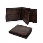 Men's Vintage Leather Cowhide Bifold Wallet by Campomaggi C014530ND - CP0067VL