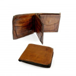 Washed Leather Horizontal Wallet  with Change Pocket by Campomaggi C014560ND - CP0150VL