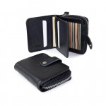 Compact Wallet in Leather, Chose Your Color! 642-VA