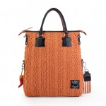 You Won't Find Another Like This - Canvas and Leather Tote 4853-TE