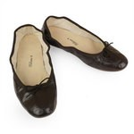 Porselli Ballet Flat - Dark Brown PO-DS-11