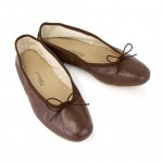 Porselli Ballet Flat - Chocolate PO-DS-15