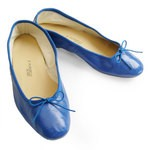 Porselli Ballet Flat - Blue PO-DS-38