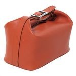 Pierotucci Ladies Beauty Case in Soft Leather 8113-BU