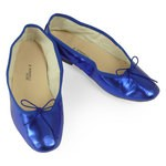 Porselli Ballet Flat - Metallic Blue PO-DS-50