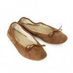 Porselli Ballet Flat - Brown Suede PO-DS-C11