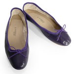 Porselli Ballet Flat - Dark Purple PO-DS-05