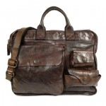 Campomaggi Washed Leather Briefcase - C005980ND C005980ND X0001