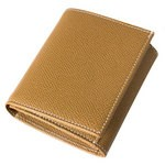 Women's Leather Tri-fold Wallet with Coin Case 8180-MA