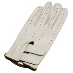 Leather Golf Glove with Velcro Straps for Left Hand GU07-NA