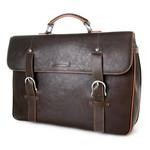 Toscanella Men's Leather Business Briefcase 1509-VA