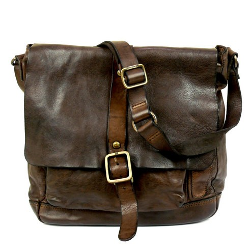 bb438b3b926c Campomaggi Large Messenger Bag in Washed Leather - 006530ND